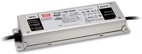 Фото 1/2 ELG-150-24DA, AC/DC LED, 24В,6.25А,150Вт,IP67 блок питания для светодиодного освещения