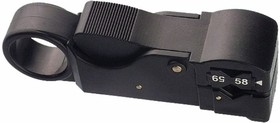 Фото 1/2 12-4012, Инструмент для зачистки коаксиального кабеля (3 ножа) RG-58, RG-59 (HT-312) (CT-312B) REXANT