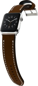 Фото 1/5 CLB012, Ремешок Cozistyle Leather Band for Apple Watch 42mm Dark Brown