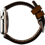 Фото 2/5 CLB012, Ремешок Cozistyle Leather Band for Apple Watch 42mm Dark Brown
