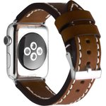 Фото 4/5 CLB012, Ремешок Cozistyle Leather Band for Apple Watch 42mm Dark Brown