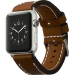 Фото 5/5 CLB012, Ремешок Cozistyle Leather Band for Apple Watch 42mm Dark Brown