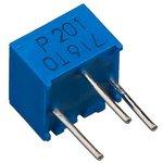 Фото 5/5 3362P-1-201LF (СП3-19а), 200 Ом, Резистор подстроечный