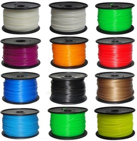 Фото 1/3 ABS plastic 1.75mm for 3D printers. 1000g. [Red], (ABS plastic 1,75mm (Red))