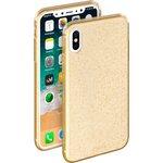 85340, Чехол Deppa Chic Case для Apple iPhone X, золотой, Deppa