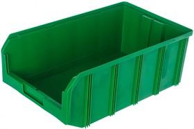Фото 1/2 Пластиковый ящик V-4, зеленый 502x305x184