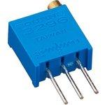 Фото 6/6 3296W-1-100LF (СП5-2ВБ), 10 Ом, Резистор подстроечный