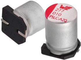 875075555003, Электролитический конденсатор, 68 мкФ, 25 В, Серия WCAP-PSLC, Radial Can - SMD, -55 °C