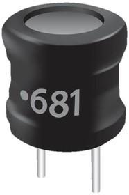 Фото 1/2 6000-121K-RC, RF Choke Bobbin Core 120uH 10% 796KHz 20Q-Factor Ferrite 1.25A 0.32Ohm DCR RDL
