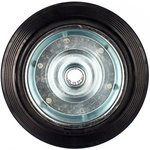 Колесо d=250мм, мет/рез, игольчатый подшипн /ось 25 мм/ г/п=210кг 4000-250