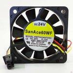 Вентилятор Sanyo Denki SanAce 60WF 9WF0624H7D03 (Fanuc A90L-0001-0511) 60x15мм ...