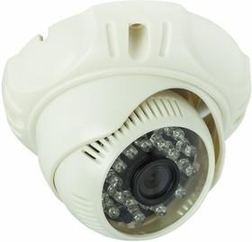Фото 1/2 45-0141, Купольная камера AHD 1.3Мп (960P), объектив 3.6 мм., ИК до 20 м.
