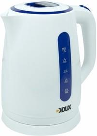 Фото 1/2 60-0707, Чайник электрический пластиковый 1,7 литра, 2200 Вт/220В (DX-1288)