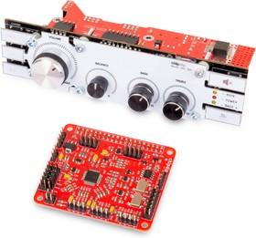 Фото 1/4 RasPi DSP Machine 1, ChipDip DAC, CODEC - аудио процессор для Raspberry Pi, ADAU1701 x 1