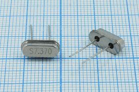 Фото 1/4 кварцевый резонатор 7.37МГц в низком корпусе HC49S, нагрузка 20пФ, 7370 \HC49S3\20\ 30\ 30/-20~70C\49S[SDE]\1Г