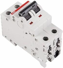 81-0013, 2CDS242001R0204 SH202L C20 Автоматический выключатель 2P 20А (С) 4,5kA