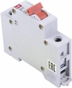 81-0510, Автоматический выключатель BKN 1P C40A, тип C, 1 полюс, 6кА, 240/415В, номинальный ток 40A