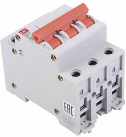 81-0530, Автоматический выключатель BKN 3P C6A, тип C, 3 полюса, 6кА, 240/415В, номинальный ток 6A