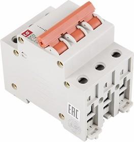 81-0532, Автоматический выключатель BKN 3P C16A, тип C, 3 полюса, 6кА, 240/415В, номинальный ток 16A