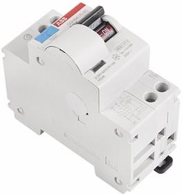81-1015, 2CSR145001R1104 DSH941R Дифференциальный автоматический выключатель 1P+N 10A 30mA (AC) хар. C