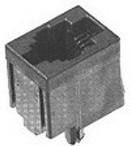 5555799-1, Conn RJ-45 F 8 POS 1.02mm Solder ST Thru-Hole 8 Terminal 1 Port Cat 3 Box/Tray
