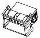 1-967630-2, Conn Housing PL 21 POS 5mm Crimp ST Cable Mount Automotive Bag