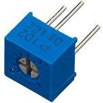 Фото 4/6 3362P-1-102LF (СП3-19а), 1 кОм, Резистор подстроечный