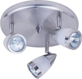 H076-3, Светильник Hiper Светильник встраиваемый Сатин/Никель H076-3 Поворотный, мощность ламп до 50Вт Разме