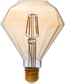 TH-B2195, Лампа светодиодная Hiper THOMSON LED DECO FILAMENT DIAMOND 4W 480Lm E27 95135 1800K GOLD