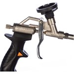 Фото 4/4 Пистолет для монтажной пены, регулировка напора струи, головка PTFE 21B504