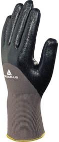 Фото 1/4 Перчатки полиамидные с двойным нитриловым покрытием VE713, р. 10 VE71310