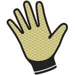 Фото 2/4 Перчатки полиамидные с двойным нитриловым покрытием VE713, р. 10 VE71310