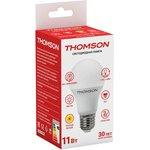 Фото 2/3 TH-B2005, Лампа светодиодная Hiper THOMSON LED A60 11W 900Lm E27 3000K TH-B2005