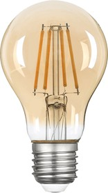 TH-B2109, Лампа светодиодная Hiper THOMSON LED FILAMENT A60 5W 515Lm E27 2400K GOLD