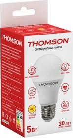Фото 1/2 TH-B2097, Лампа светодиодная Hiper THOMSON LED A60 5W 450Lm E27 3000K