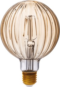 TH-B2191, Лампа светодиодная Hiper THOMSON LED DECO FILAMENT BALOON 4W 480Lm E27 100150 1800K GOLD