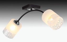 H010-2, Светильник Hiper E27260Вт черный/Хром H010-2