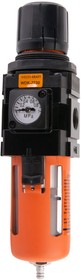 Фото 1/5 Фильтр- масловлагоотделитель с регулятором и манометром WDK-7730