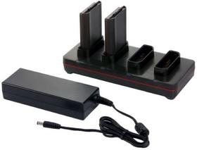 CX80-QBC-UV-0, Зарядное устройство HONEYWELL CN80 quad battery charger with power supply and no power cord