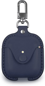 CLCPO002, Сумка Cozistyle Leather Case for AirPods - Dark Blue