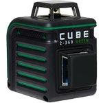Фото 7/9 Лазерный уровень CUBE 2-360 Green Ultimate Edition А00471