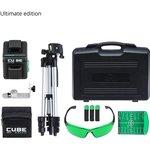 Фото 9/9 Лазерный уровень CUBE 2-360 Green Ultimate Edition А00471