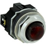 APD122DNUR, PANEL INDICATOR, RED, 24V, SCREW