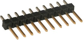 Фото 1/2 22-28-4105, HEADER CONNECTOR,PCB MOUNT,RECEPT,10 CONTACTS,PIN,0.1 PITCH,PC TAIL TERMINAL 56H2020
