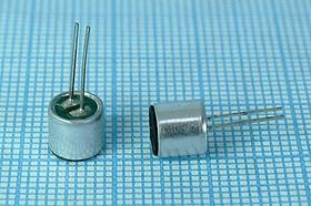 Микрофон электретный всенаправленный 6x5.2мм; №4242 Z микэ 6,0x 5,2\O\2P\-36~-52\ECM-10P\