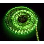 141-334, Лента светодиодная 1 метр, 60SMD(3528)/m, IP23, зеленый