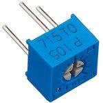 Фото 4/4 3362P-1-105LF (СП3-19а), 1 Мом, Резистор подстроечный