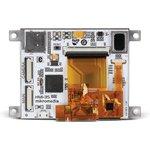 """Фото 3/4 MIKROE-2277, mikromedia HMI 3.5"""" Cap, Встраиваемая HMI панель 320 x 240 px на базе МК FT900Q, емкостная сенсорная панель"""