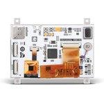 """Фото 2/4 MIKROE-2280, mikromedia HMI 4.3"""" Cap, Встраиваемая HMI панель 480 x 272 px на базе МК FT900Q, емкостная сенсорная панель"""