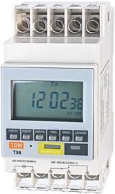 SQ1503-0002, Таймер электронный ТЭ8A-1мин/7дн- 8on/off-16А-DIN